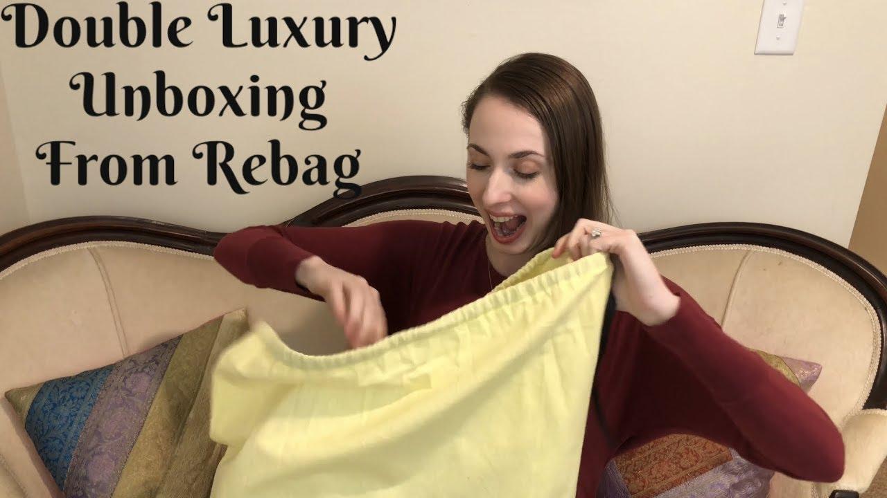 8963329b052d Double Luxury Bag Unboxing