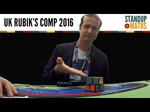 Thumbnail: UK Rubik's Cube Championship 2016 PART I