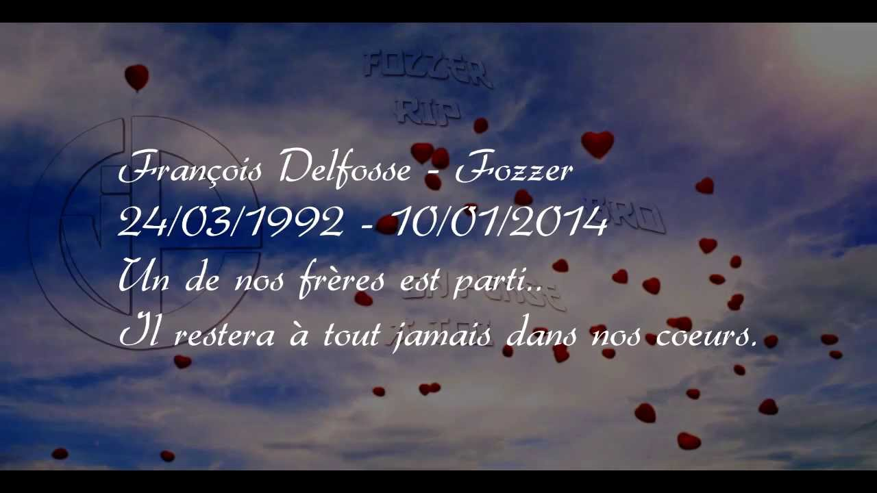 hommage ip fozzer tu resteras jamais dans nos coeurs