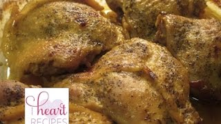 Honey Mustard Chicken Recipe - I Heart Recipes