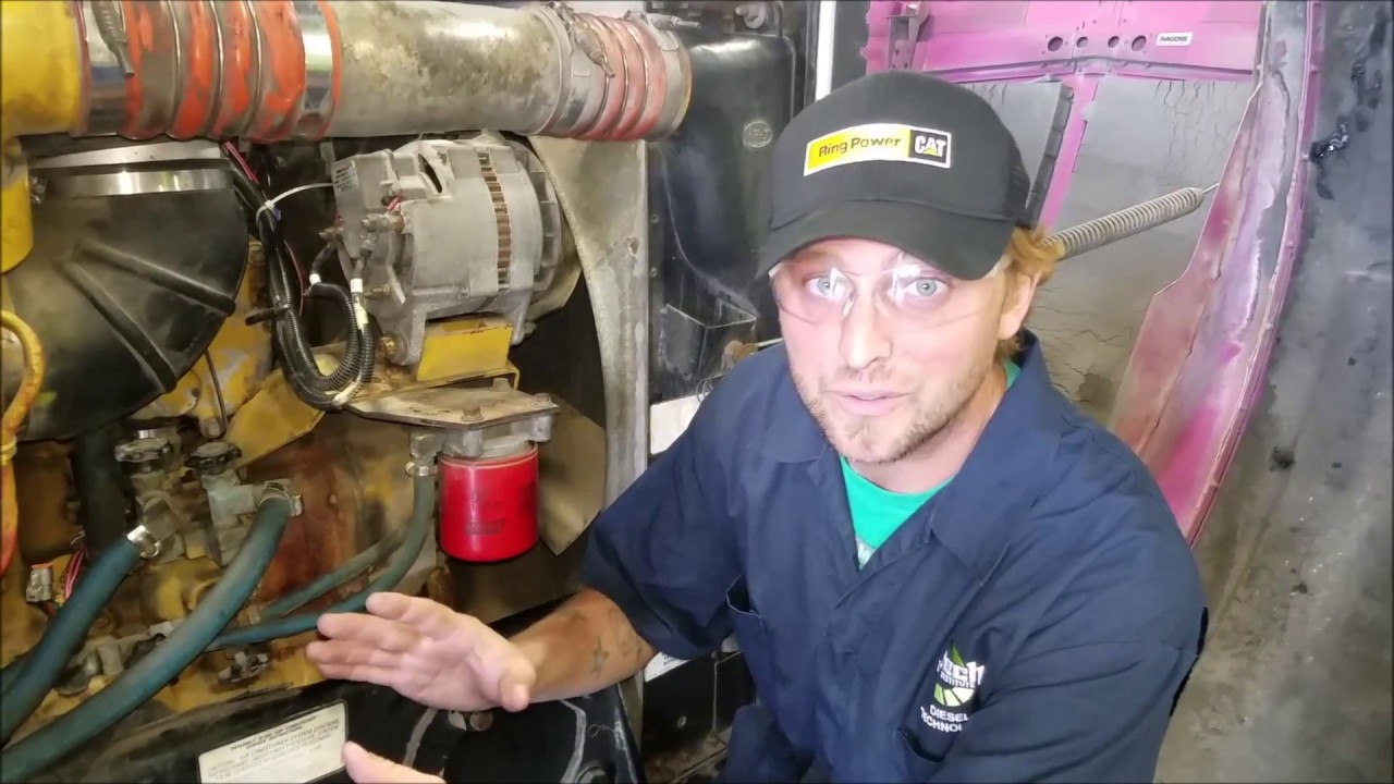 engine components on a c13 caterpillar diesel explained [ 1280 x 720 Pixel ]