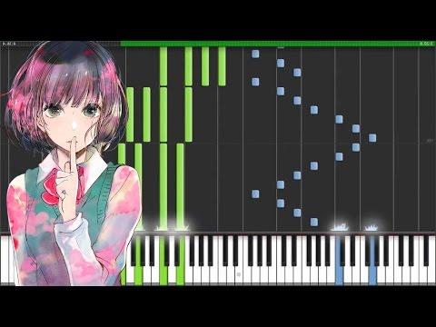 "【FULL】[Kuzu no Honkai OP] クズの本懐 OP - ""Uso no Hibana"" (Synthesia Piano Tutorial - ピアノ)"