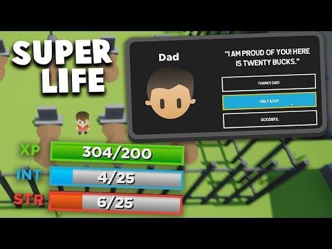 Bitlife But Its In 3D... | Super Life RPG