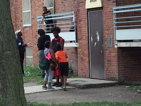 9 year old among three people shot at Cleveland apartment building