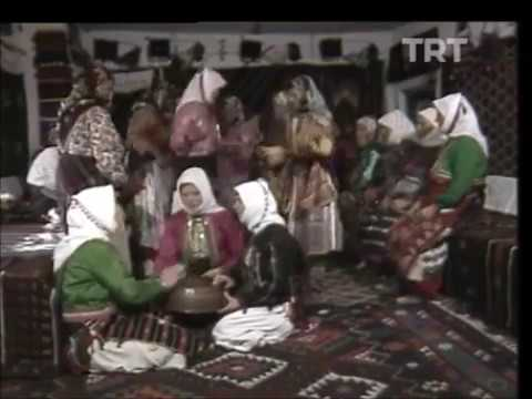 Anatolian old Turkish / Turkmen Traditional Dance | Frame Drums