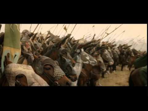 Discours de Theoden à Minas Tirith + Charge-Le Retour Du Roi (VF)