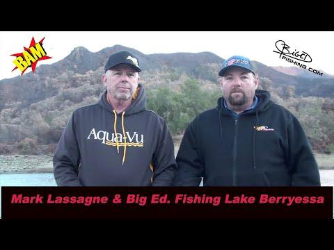 Big Ed fishing with Mark Lassagne