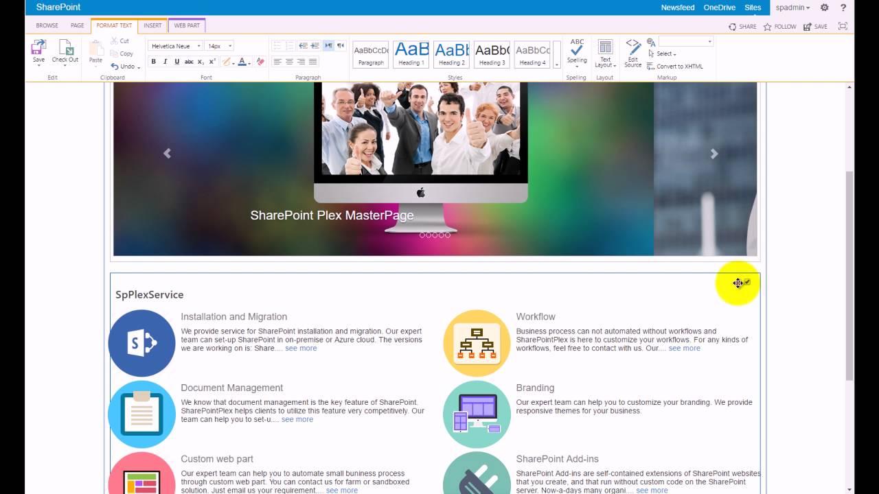 SPPLEX Theme for SharePoint
