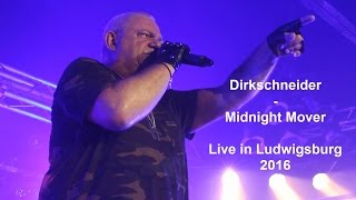 Udo Dirkschneider - Midnight Mover (Accept Song Live)