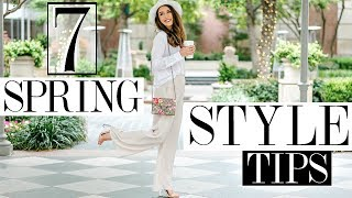7 Spring Style Tips You NEED To Know + EXCITING ANNOUNCEMENT!