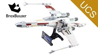 Lego Ultimate Collector Series 10240 Red Five X-wing Starfighter - Lego Speed Build
