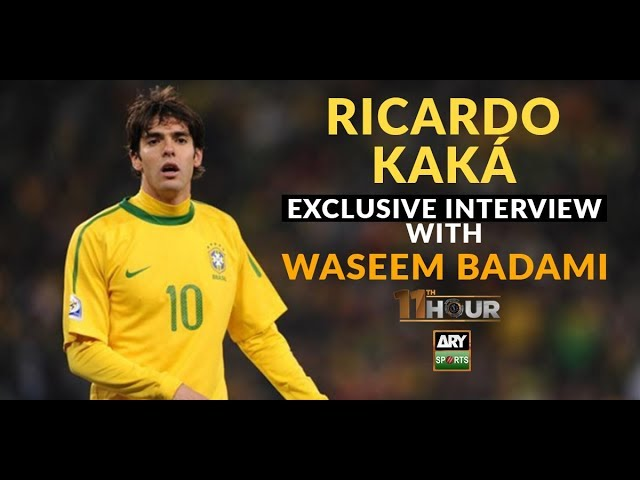 WATCH: Exclusive interview with Brazilian football star Ricardo KAKA
