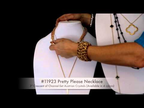 The Gold Standard ~ Gold-toned Park Lane Jewelry & Layering Tips