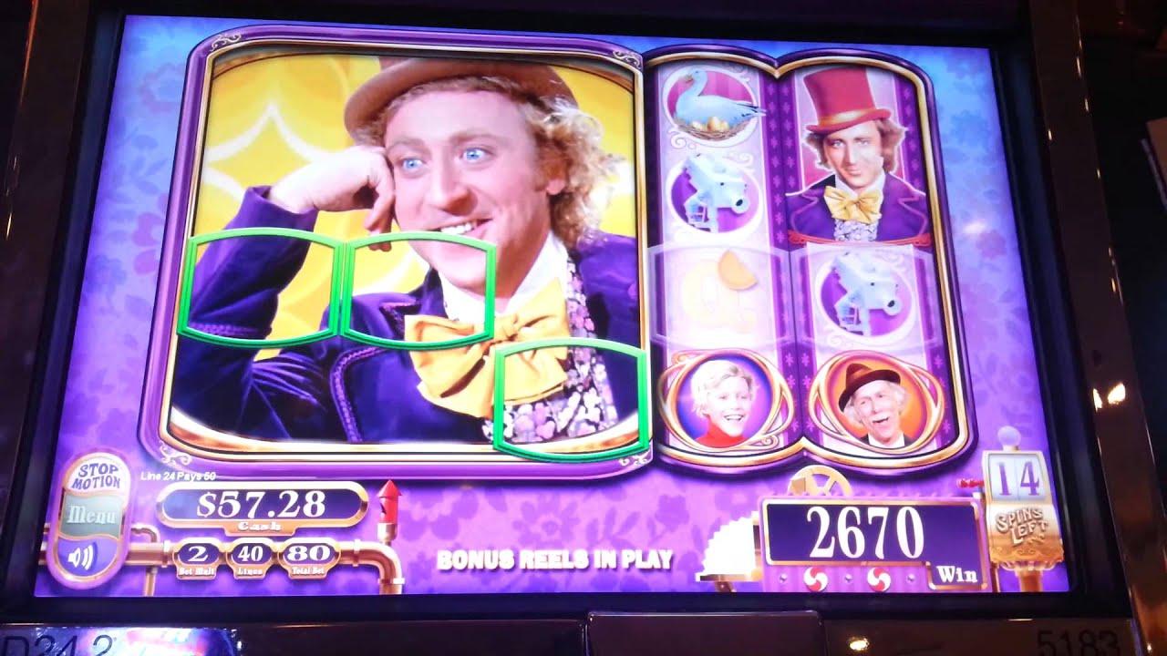 Willy Wonka Slot Machine Vegas