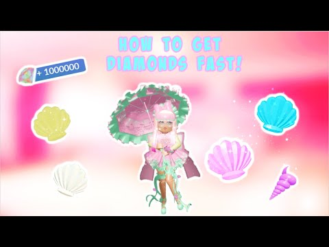 How To Get Diamonds Fast In Royale High! Tips, Glitches And More!【ROBLOX】 💎