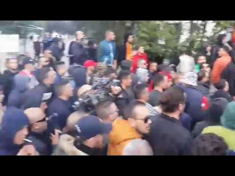 Guerrils protestojne para FSHF