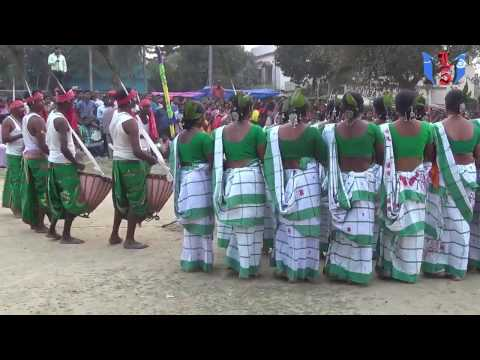 SANTALI TRADITIONAL DANCE COMPETITION AT KALYANI,COMPETITOR..-GHOSHPARA