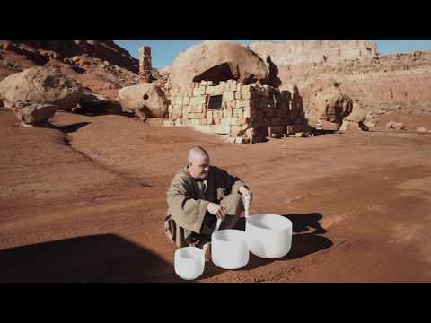 The Power of Crystal Singing Bowls - Levitation at Crystal Tones Temple