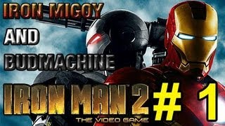 The Iron Dudes Part 01 | Iron Man 2 The Video Game | Too Much Gaming