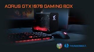 AORUS GTX 1070 Gaming Box Product Walkthrough