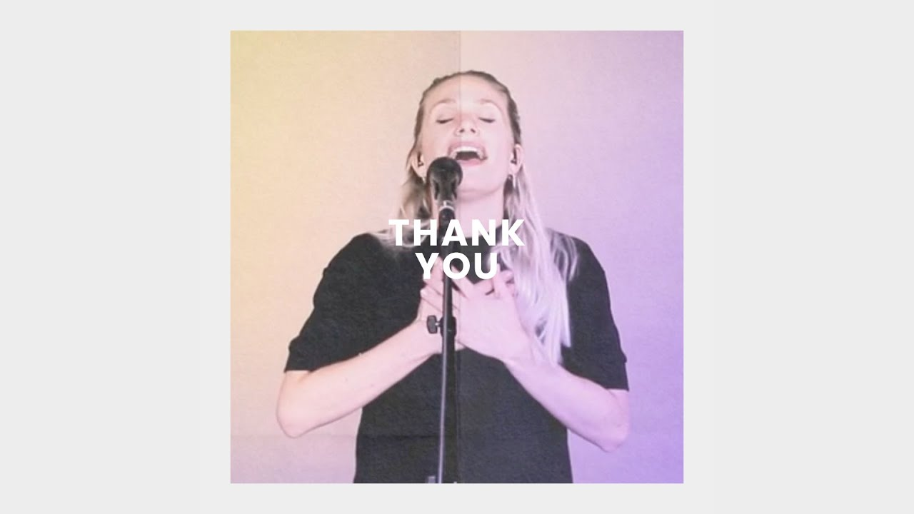 Thank You (Live) - Anna Brading Cover Image