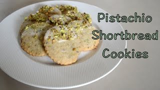 Pistachio Shortbread Cookies Dipped In White Chocolate | Aj's Cooking Secrets