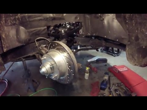 mustang ii control arm install pt 2