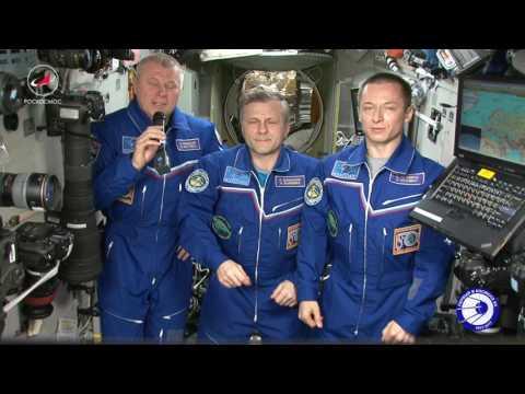 Космонавты РОСКОСМОСА поздравили Валентину Терешкову с юбилеем!