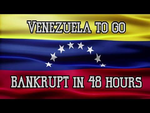 Venezuela to go BANKRUPT in 48 hours