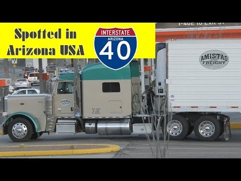 AMISTAD FREIGHT TRUCK SPOTTING - Union Mississippi USA