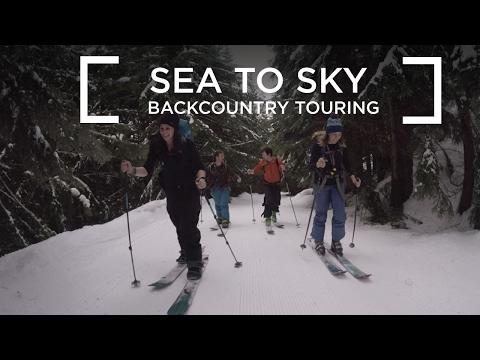 Ski Touring the Sea to Sky Gondola VLOG #5
