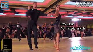Comp Crawl with DanceBeat! Empire 2018! Pro Latin and Amateur Standard!