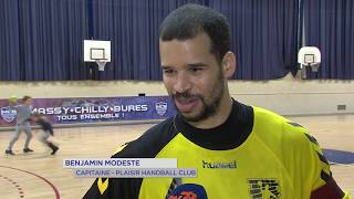 Handball : Plaisir s'incline contre Massy