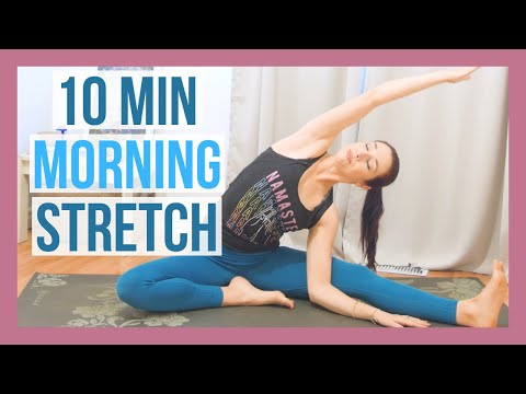 10 min Morning Yoga Full Body Stretch - Yoga Without Props