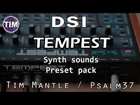!!All New!! DSI Tempest - 128 Synth Sounds / Patches