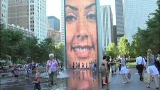 Inside, Below, and Above the Crown Fountain