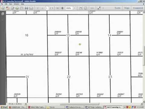 CADASTRAL SURVEY (Land Ownership and Poll Tax Registration)