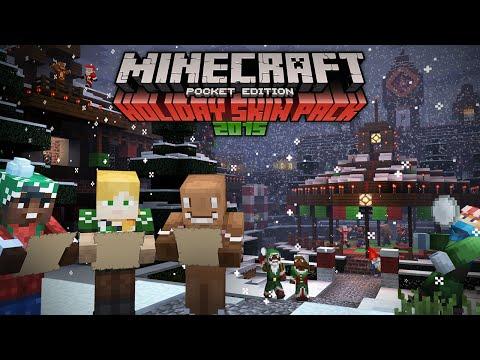 Minecraft Pocket Edition &  Windows 10 Holiday Livestream