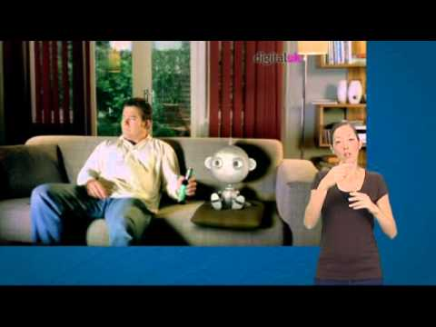 Digital TV Switchover video (with British Sign Language)