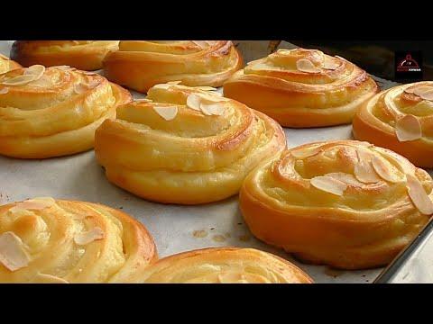 Custard Bread Roll - Soft & Creamy