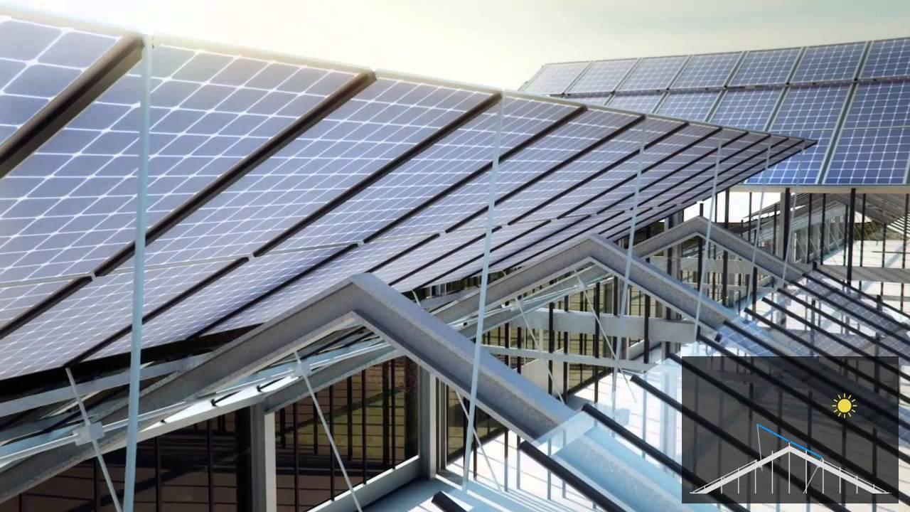 Encosol Photovoltaik Nachfuhrung Auf Gewachshausern Youtube