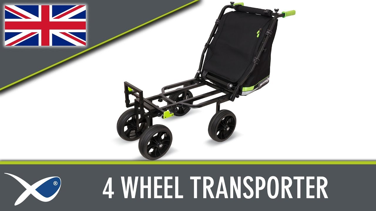 Map X4 Barrow.Coarse Match Fishing Tv 4 Wheel Transporter