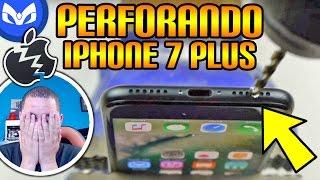 HACIENDO HUECOS AL iPhone 7 y iPhone 7 Plus