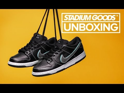 50bb4f634799 Diamond Nike SB Dunk Low