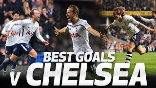 SPURS' BEST GOALS V CHELSEA | Ft Christian Eriksen, Harry Kane, Gareth Bale and Luka Modric