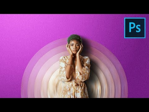 Make Your Portraits Stand Out with Abstract Designs! - Photoshop Tutorial thumbnail