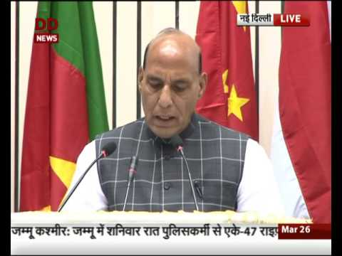 HM Rajnath Singh addresses the valedictory session of World Conference on Environment-2017