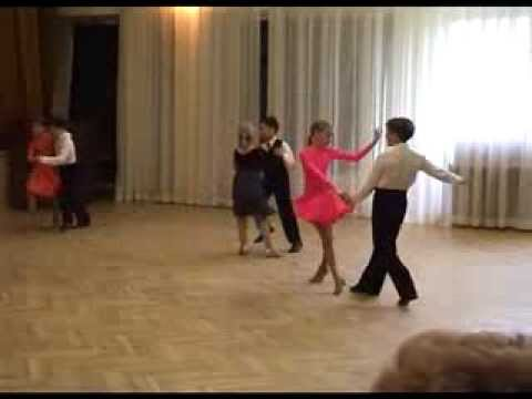 Kids ballroom and latin dance lesson