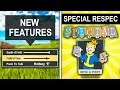 Fallout 76 HUGE UPDATE - New Features, C Updates, SPECIAL Respec &; More! (New Update)