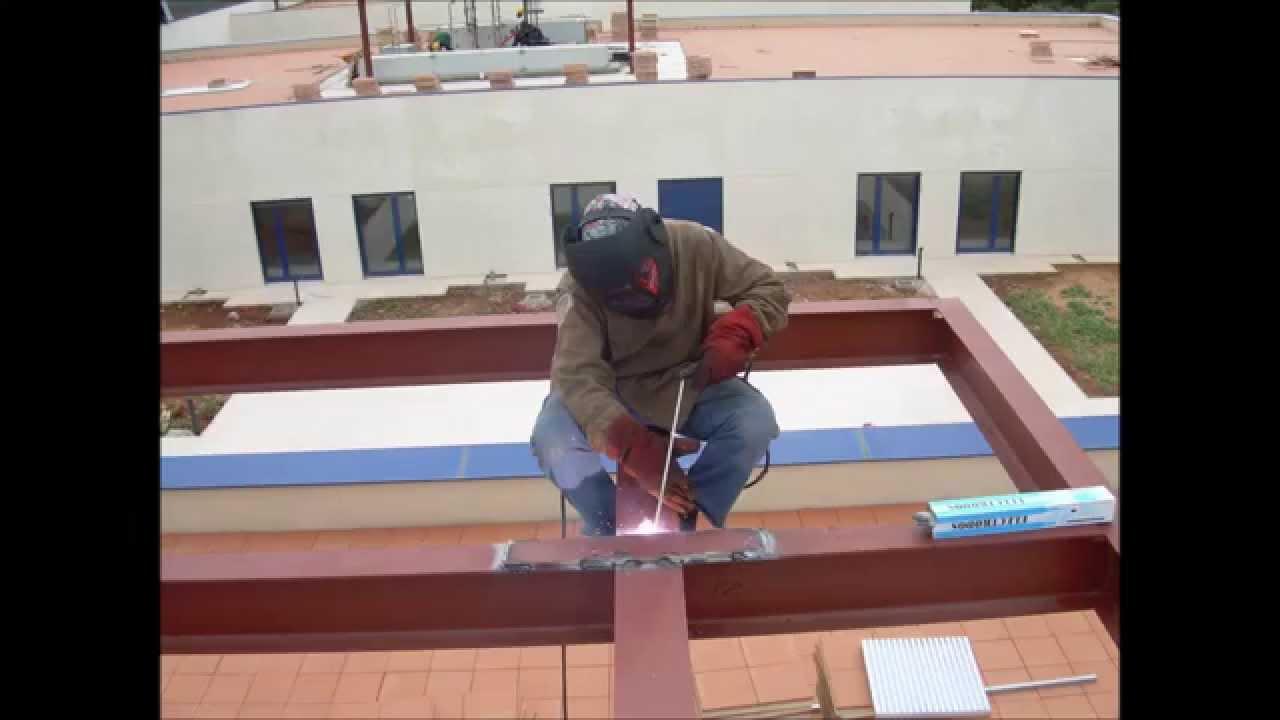 Todo en estructuras de hierro herrer a profesional en - Estructuras de hierro para casas ...